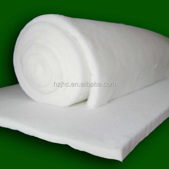 Eco-friendly Thermal Bonded polyester cotton wadding
