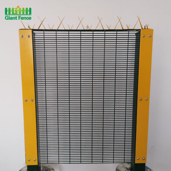 Factory Powder Coated High Metal Security Anti Climb Wire Mesh Fence of Malaysia