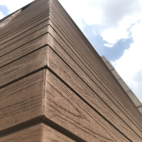 Wood Plastic Composite wood grain WPC Exterior Wall Panel Decorative Covering Cladding