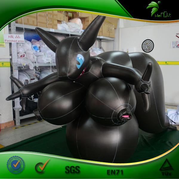 Giant Sexy Cartoon Inflatable, Animal Vagina, Inflatable SPH Fox