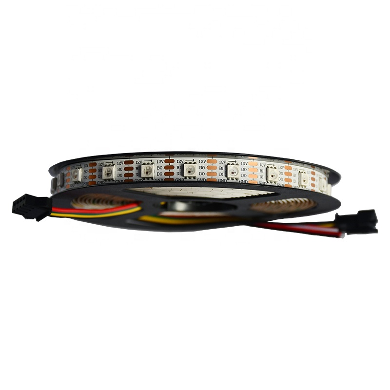 IP67 waterproof rgb 12v led strip 5050 light addressable 60 leds/m ws2815