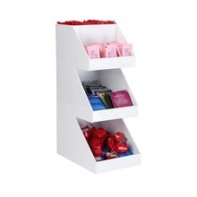Custom wit acryl retail snoep eten display rack