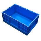 Eco-friendly [ Crate Food ] Plastic Crate Stackable Plastic Box Food Container Foldable