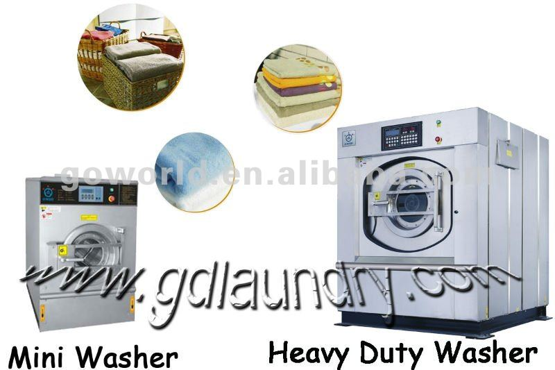 50kg electric heating laundries washing machine,washer extractor for laundry