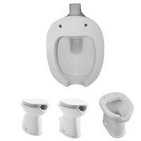 hospital sanitary furniture public potty training bidet wc bed school wall toileteries old man closestool Nursery Laundry sink