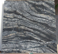 2020 Hot Sale Polished Ancient Wood Grain Marble Tiles, Beautiful Black Marble Stone for Walls
