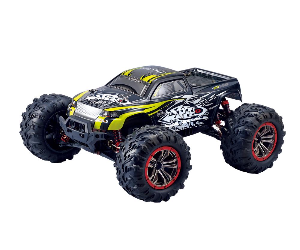 2020 Hot RC Truck N516 RC Car 1/10 2.4G 4WD 46km/h High Speed RC Cars 20mins Short Waterproof Racing Toys VS 9125, Blue/red