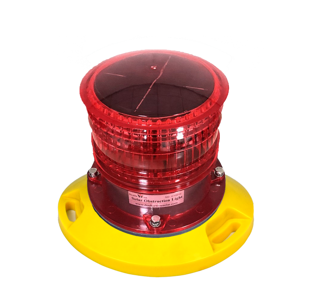 DWS301A Low price Obstacle Warning Solar Powered Aviation Obstruction Light