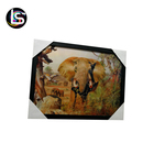 High Definition Pretty Elephant Lenticular 3D pictures 3D painting of animal