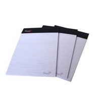 Promotional Office product items note pad , custom a4 blank writing pad with logo