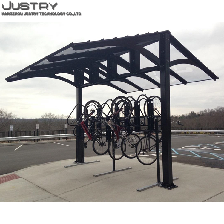 Good design bike parking outdoor urben cycle shelter