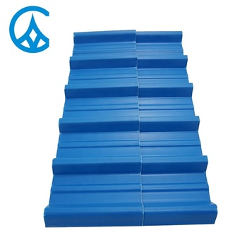 Competitive supplier price Building Construction waterproofing Material corrugated white plastic roof materials tiles sheet
