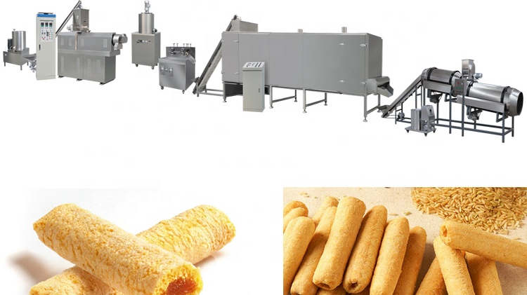 Multi-functional Industrial Core Filling Snack Food Equipment Producer Processor