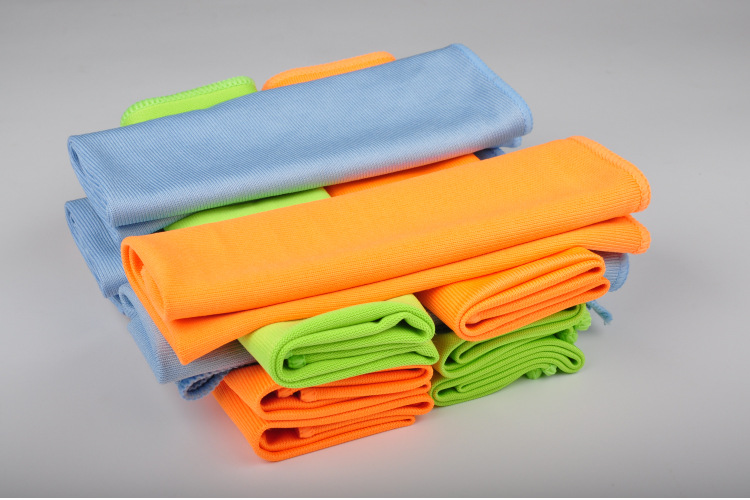 Amazon Hot Sale Cleaning Products Microfiber Glass Window Car Cleaning Polishing Cloth