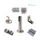 Fire Proof Easy To Clean Partition Stainless Steel Accessories Public Toilet Cubicle Hardware