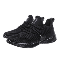 Lace-up Casual Breathable Mesh Sport Shoes Men Running Sneakers In Stock