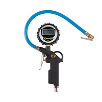 Tire Inflator Gun Digital Tire Pressure Gauge with Rubber Hose
