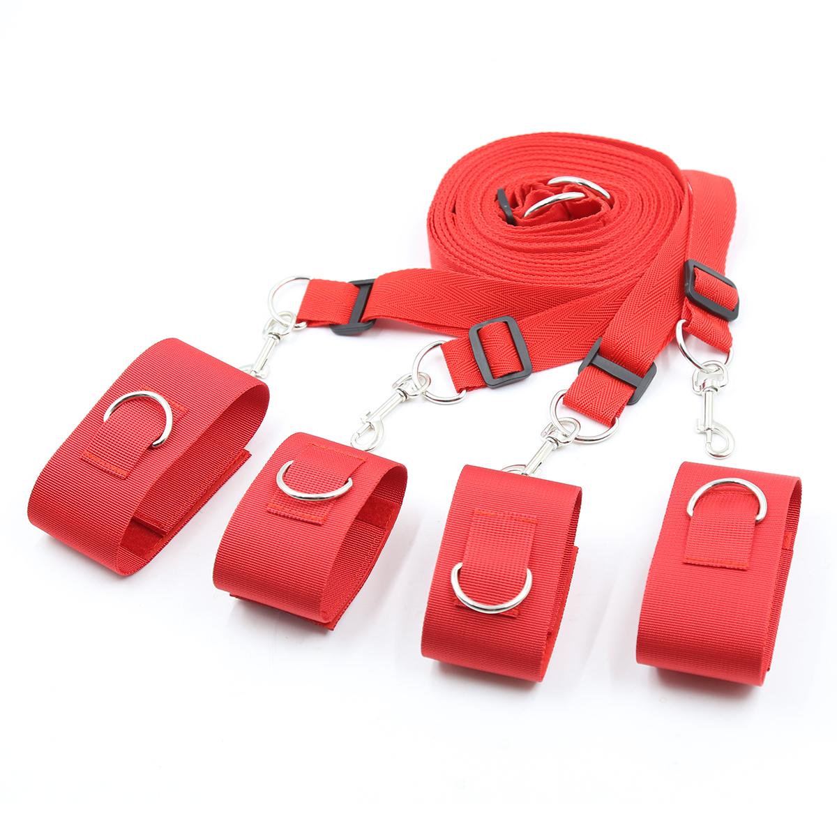 SM bed bondage gear