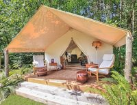outdoor luxury camping family safari hotel resort tent for sale