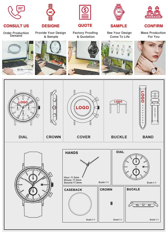SANDA 418 hombres Relojes de marca negro correa de silicona resistente al agua cronógrafo luminosa deportes reloj Hombre Relojes para Hombre