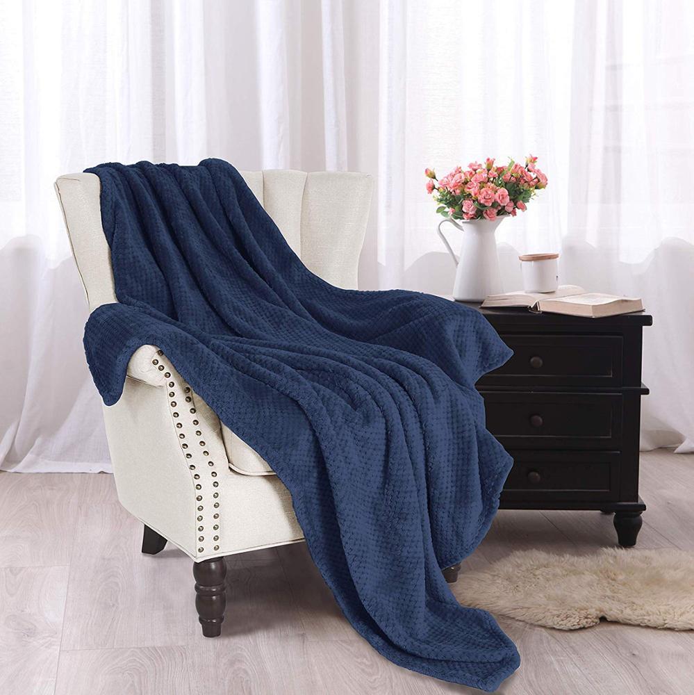 حار بيع الجاكار بطانية صوف ناعمة المخملية أفخم بطانية كبيرة رمي الثقيلة
