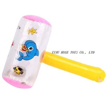 Best sale giant PVC cute floating inflatable best sledge hammer for promotion