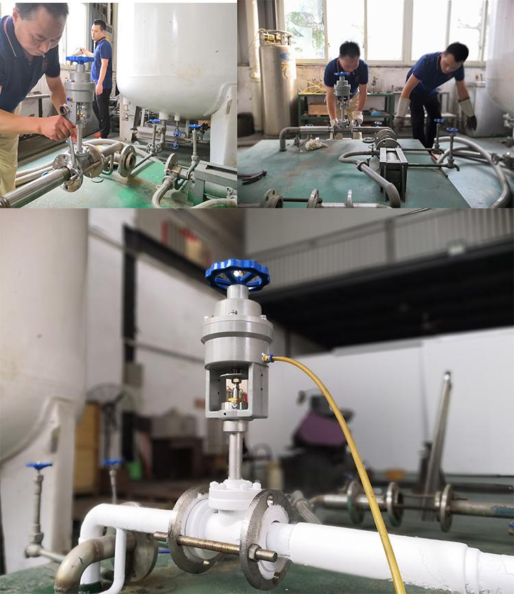 cryogenic valve test