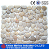 White pebble/cobblestone paving tile