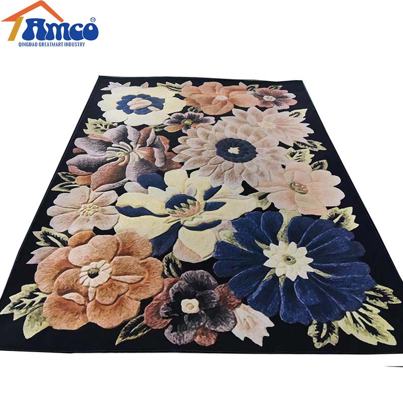 3D alfombra para sala de estar mesa de café alfombras de piso antideslizante niño alfombra dormitorio alfombras de bebé suave alfombra