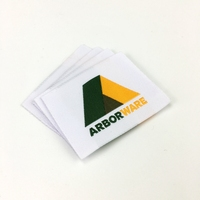Sew On Customized Wholesale Heat Cut Polyester Woven Label for Clothing