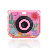 Japan non-toxic material waterproof kids camera for children selfie action digital cam 1080p for toy gift