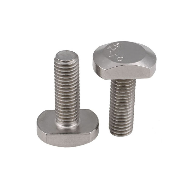 T Head Bolts M4, M5, M6, M8, M10, M12 T Hammer Head Bolts  For Frame Fastener Titanium Bike Bolt