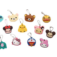 Professional Supplier Cartoon Anime Key Cover Keychain Rubber Keychain Car Key Cover
