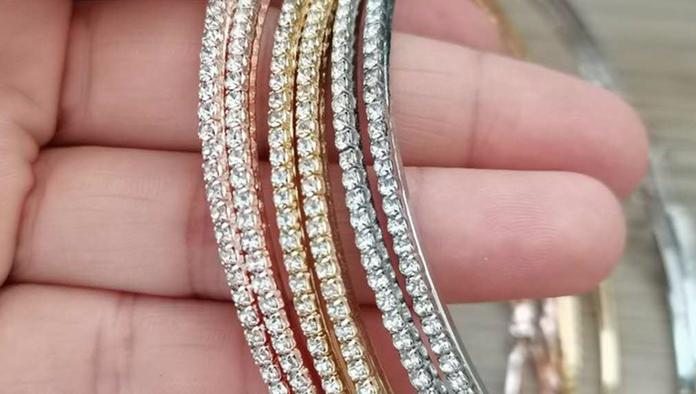 60-100 milímetros Completa Strass Rodada Big Hoop Brincos Declaração de Moda Banhado A Ouro Zircão Brinco