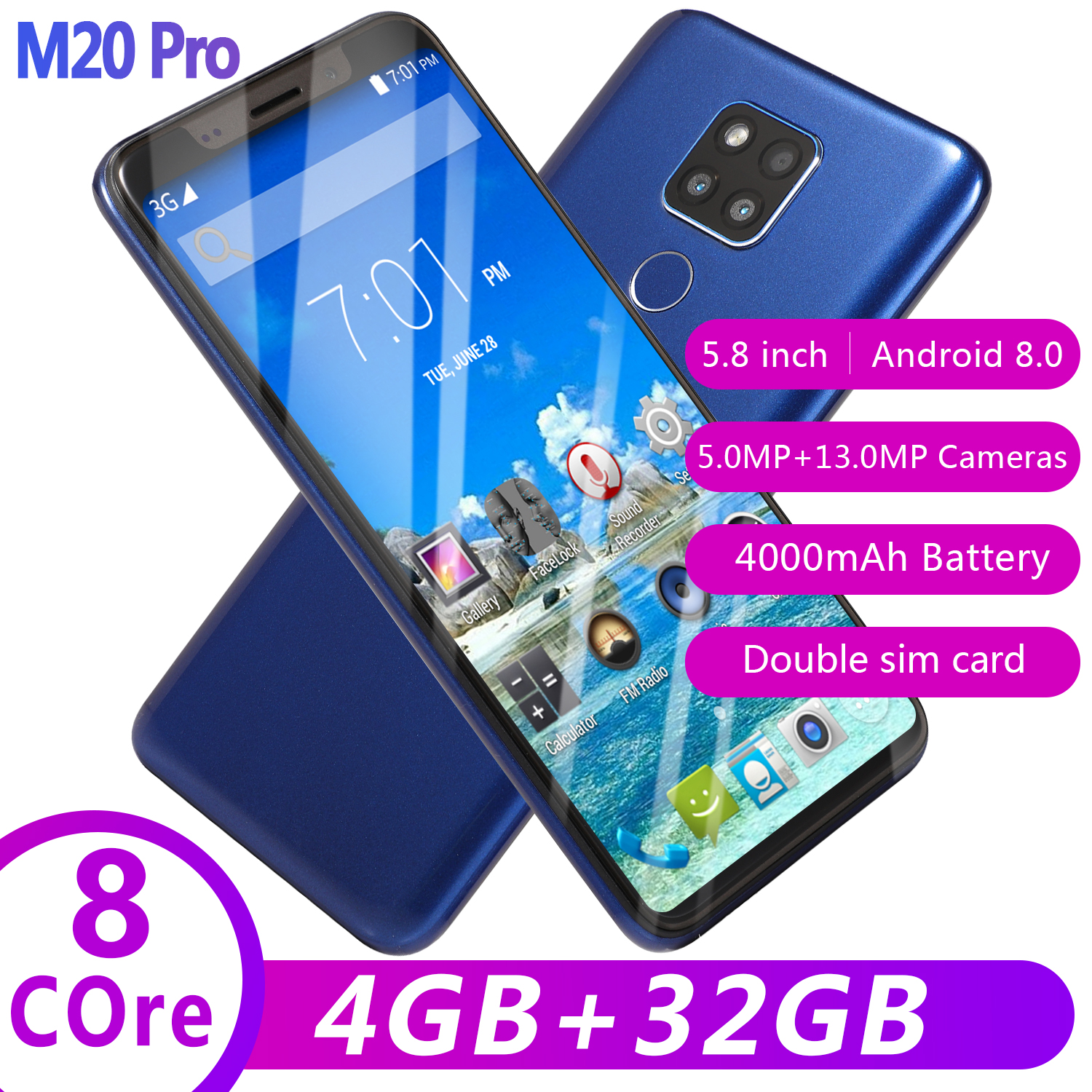 wholesale cheap smart phone android 5.8 inch Quad core Gradient body Factory Outlet oem low price china mobile phone