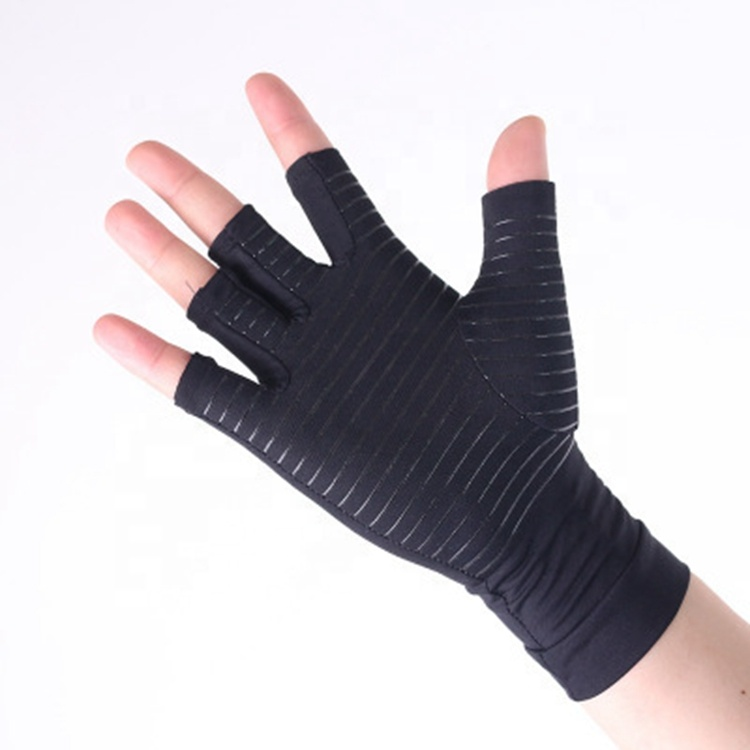 Antibacterial copper ion Arthritis compression copper hand <strong>gloves</strong>