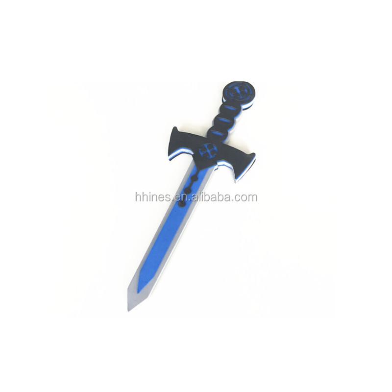 Многоцветный logo eva пеные печатные меч игрушечное оружие для малыша