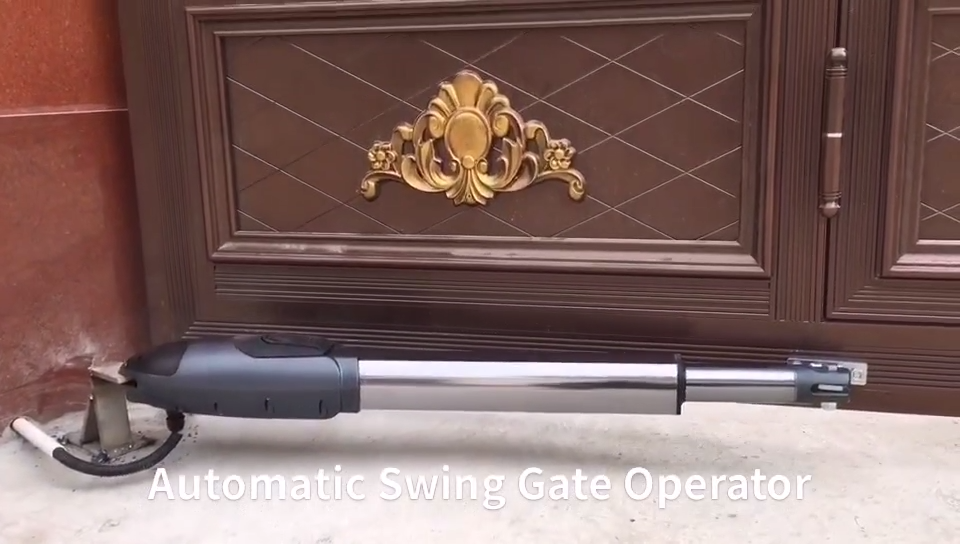 Power Tech Automatic Swing Gate Opener 220V Door Remote Control System Controlled Electric Electronic Dual Light Duty