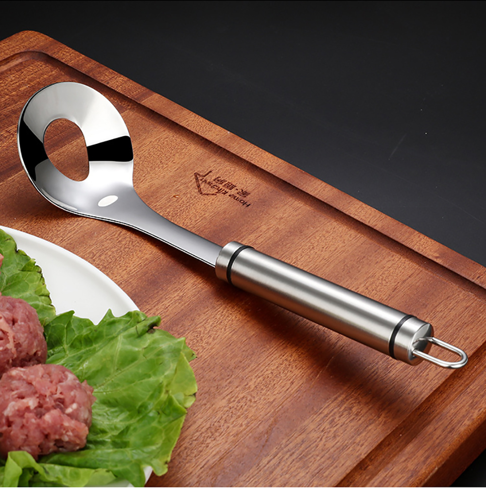 High Quality Meatballs Maker Digging Spoons Kitchen Household Tools Spoon 304 Stainless Steel Squeezed Meatball Tools
