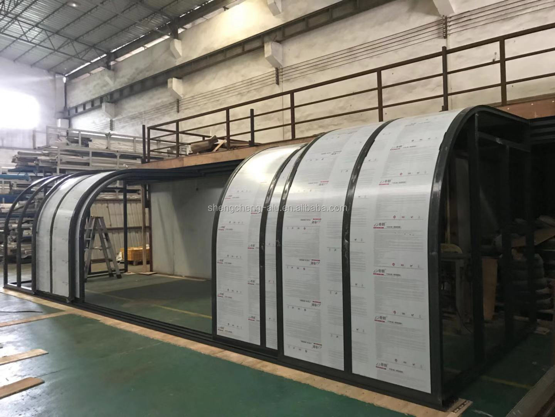 Customized Waterproof Retractable Aluminium Frame