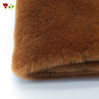 High quality popular wholesale faux fur fabric for faux fur bag pink rex rabbit fur coat