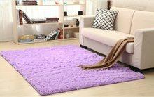 RULDGEE пушистые коврики для гостиной, домашние плюшевые коврики с искусственным мехом, шелковые коврики для гостиной(Китай)