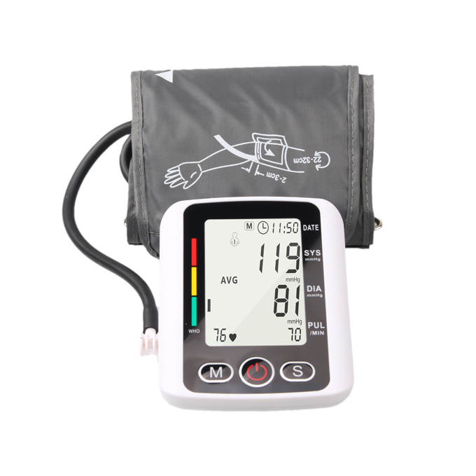 Wholesale Standard Medical supplies domestic upper arm portable bp monitor Blood Pressure with voice B03