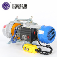 Mini 220v 1000kg 30M electric wire rope hoist