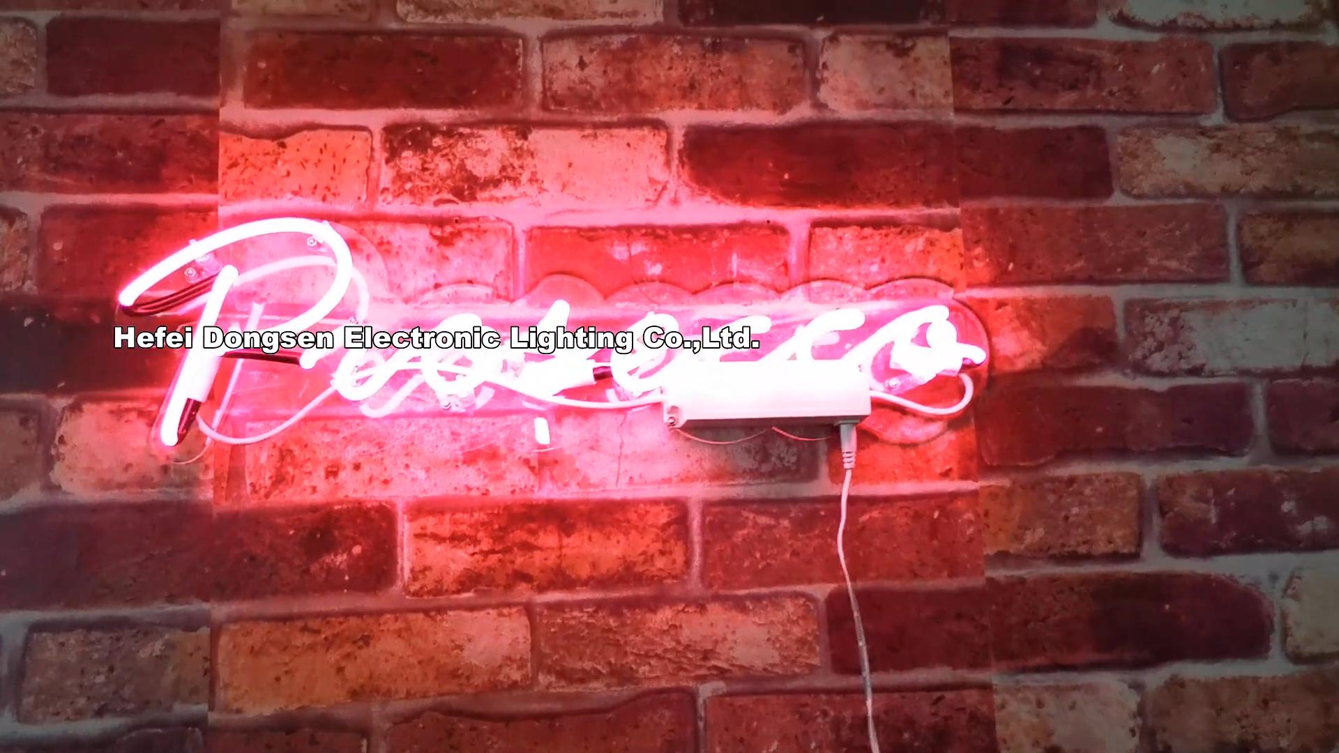 Toptan ev dekoratif neon burcu Prosecco