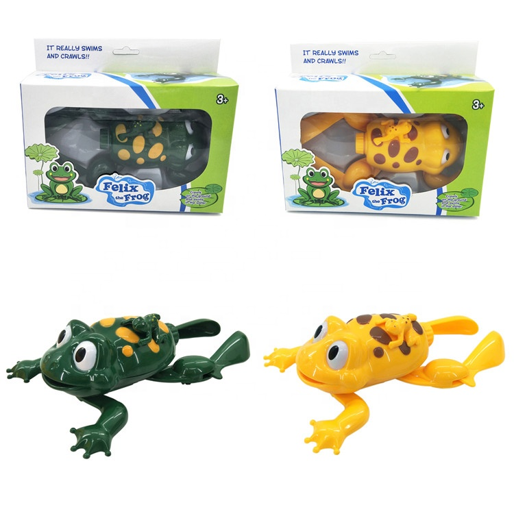 2020 Wholesale Interesting Plastic B/O Swimming Frog Toy With Sound