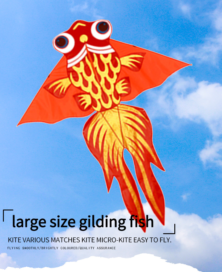 wholesale professional made easy flying large show animal fish kites for sale