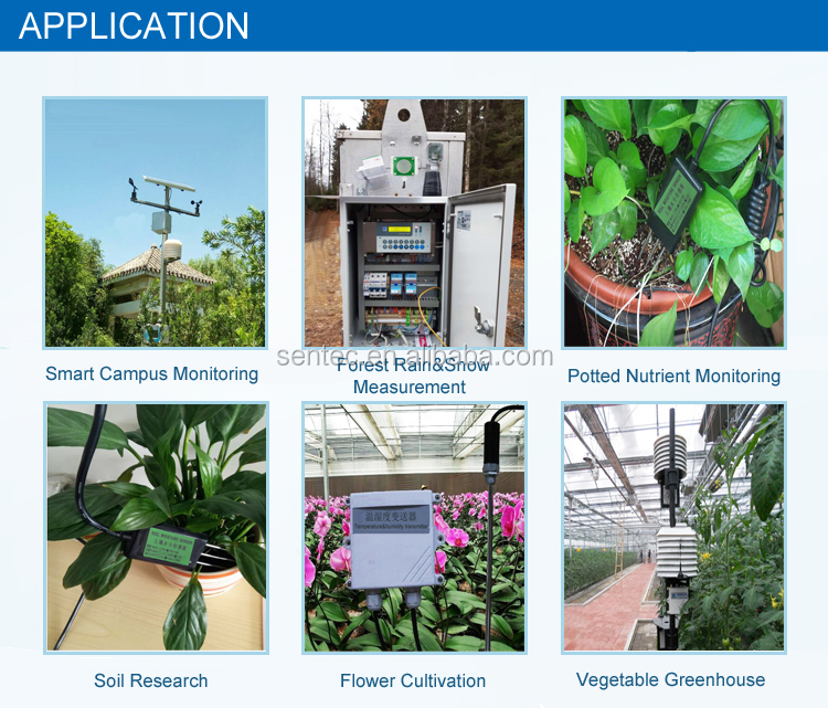 SEM225 RS485 4-20mA Soil Moisture Sensor For Garden