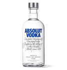 premium high quality 350ml 700ml clear glass absolute vodka bottles with cap cover