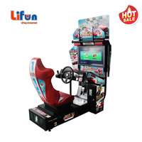 A01 Low Price India Electronic Simulator Outrun Video Coin Operated Car Racing Arcade Game Machine For Game Center